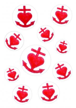 Stickerkarte