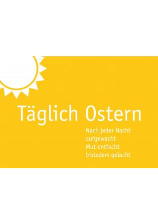 "Postkarte ""Täglich Ostern"""