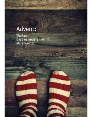"""Klappkarte """"Advent"""""""
