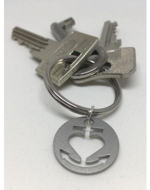 Glaube-Liebe-Hoffnung Schlüsselanhänger