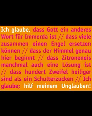 """Klappkarte """"Jahreslosung 2020"""""""