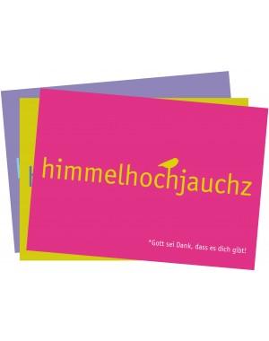 "Klappkartenset ""himmelhochjauchz"""