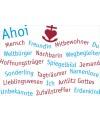 """Postkarte """"Ahoi"""""""